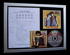 Dexys midnight venire Eileen Ltd CD musica di qualità di visualizzazione incorniciato + veloce spedizione globale