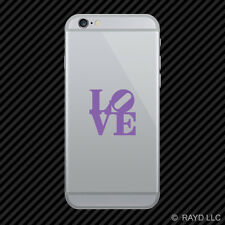 (2x) Love Park Cell Phone Sticker Mobile philly philadelphia many colors