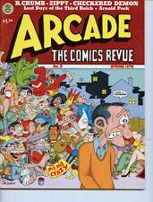 Arcade: The Comics Revue #5 Robert Crumb 1976 VF