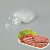 50mm*5M Clear Inedible Pork Ham Plastic Casing Sausage Cover Shell Sausage Skin