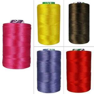 Embroidery Thread Art Silk Machine Hand Craft Activity Floss Yarn 10 Spools