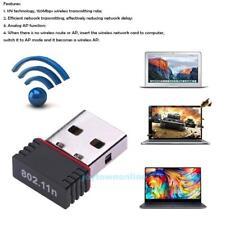 Mini WiFi WLAN Stick 150 Mbit IEEE 802.11b/g/n Wireless USB 2.0 Adapter Dongle
