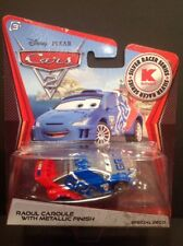 NEW Disney Pixar Cars Silver Racer Series Raoul Caroule w/ Metallic Finish Kmart