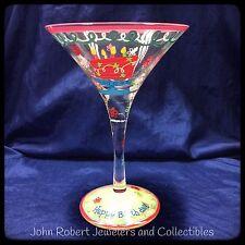 WESTLAND MARTINI GLASS HAPPY BIRTHDAY # 19033