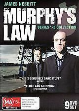 Murphy's Law : Series 1-5 (DVD, 2011, 9-Disc Set) BRAND NEW ... R ALL