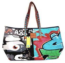 GABS Borsa Linea GABSILLE Shopping Telone E16 Murales Bag Tg.XL
