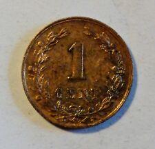 Niederlande / Netherland - 1 Cent 1878, König Willem III 1849 - 1890 vz / xf