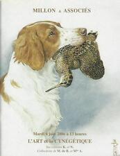 Catalogue de vente MILLON 2006 L'ART ET LA CYNEGETIQUE BRONZE ANIMALIER TABLEAU