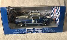 Rare GMP Mark Donohue #11B Blue 1965 FORD MUSTANG G.T. 350R VHTF NIB 1 OF 2112