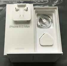 iPhone XS Max CPO UK Empty White Box Only No Phone - Silver