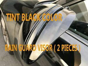 NEW SIDE MIRROR RAIN SNOW GUARD VENT SHADE DEFLECTOR VISOR Tint jaguar04-17