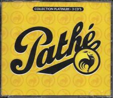 COFFRET 3 CD 60T PATHE COLLECTION PLATINUM ANDREX/TRENET/BAKER/DAMIA/CORDY NEUF