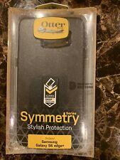 Samsung Galaxy S6 edge+ case Symmetry series Otter box stylish black new