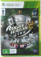 Rugby League Live 2 World Cup Edition Microsoft Xbox 360
