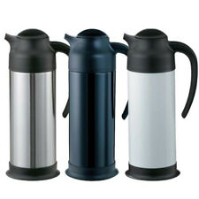Service Ideas Fs10Wh Coffee Carafe - Steel Vac, 33.8 oz. Cap., White