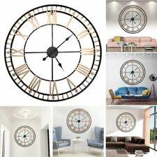 80cm Relojes de Pared Modern European Style Wall Hanging Clock Roman Numerals
