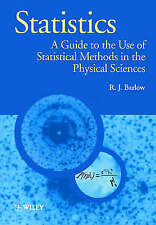 Statistics by R. J. Barlow (author)