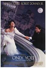 ONLY YOU Movie POSTER 27x40 Marisa Tomei Robert Downey Jr. Bonnie Hunt Fisher