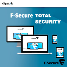 F-Secure Total Security & Privacy 2019 5 Appareils 5 Pc 2 ans Antivirus FR EU
