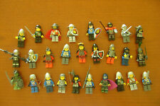 Lego Mini Figures lot of Knights with weapons and/or other accessories