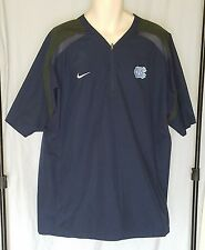 NIKE North Carolina Tar Heels Fit Storm 1/4-Zip Jacket Size Large