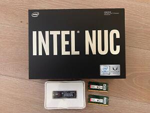 NEW INTEL HADES CANYON 500GB SSD 32GB RAM NUC8i7HVK i7-8809G MINI PC VR