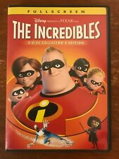 The Incredibles (Dvd, 2-Disc, 2005, Collector's Edition)*Craig T. Nelson