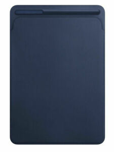 Genuine Apple MPU22ZM/A Leather Sleeve for 10.5-inch iPad Pro Midnight Blue