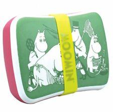 MOOMIN Family Picnic Bamboo LUNCH BOX Green Pink