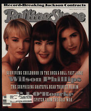 1991 Vintage Rolling Stone Magazine *Cover Only* - Wilson Phillips