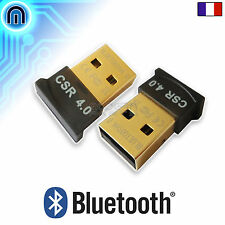 Mini Clé USB Bluetooth V4.0 Dongle, Transmetteur Audio pour Casque, Enceinte