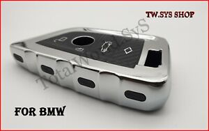 Soft TPU Key Case Cover for BMW X5,X6,F15,16,40 ☆ Full Shell ☆ Keyless ☆Silver