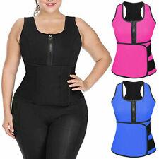 Adjustable Lady Sauna Waist Trainer Vest Slimming Sweat Belt Body Shaper
