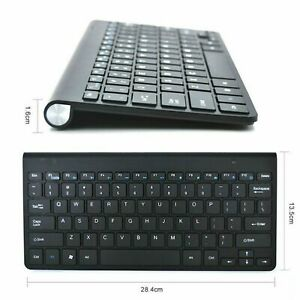 Coda Compact SLIM Wireless Keyboard and Mouse set - White and Black