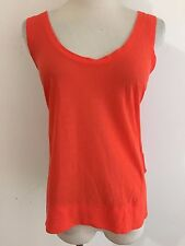a4506b07 ZARA Special T Cami Sleeveless T-Shirt Top Orange Size M