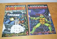 IDW TMNT Comics Lot MICHAELANGELO & LEONARDO #1 Micro Series Ninja Turtles 2014