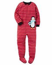 new carters toddler boy fleece pajamas size 3T