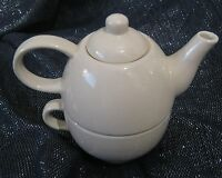 Wonderful teapot & cup combo by Price & Kensington approx 6½ ins tall