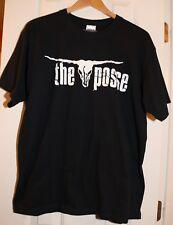 Brooks & Dunn The Posse Vintage T Shirt Black L Large Graphic Tee 100% Cotton