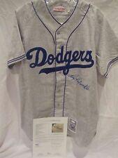 Roy Campanella (Died 1993) Autographed #39 Dodgers Jersey - Full JSA LOA