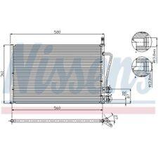 1 Condenseur, climatisation NISSENS 94587 convient à FORD MAZDA
