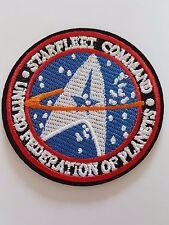 Star Trek Starfleet command badge Iron On Patch Sew on Embroidered New