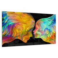Tempered Glass Photo Print Wall Art Picture Colours Abstract Love Prizma GWA0362