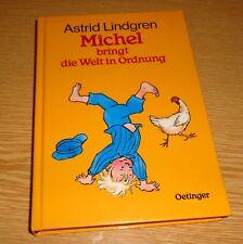 [BUCH] gebunden - Michel bringt die Welt in Ordnung von Astrid Lindgren (1990)