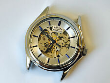 33FC FAULTY ROTARY MENS WATCH SKELETON AUTOMATIC - FACE ONLY GS03357/06
