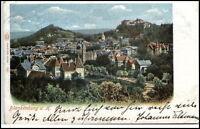 BLANKENBURG Harz 1902 Litho-AK Teilansicht Verlag Louis Glaser Nr. 7811 gelaufen