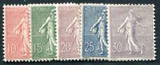 FRANKREICH 1903 108-112 * TADELLOSER SATZ 280€(I2234