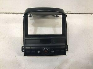 2003-2009 kia sorento radio stereo bezel trim cover interior dash 2 DIN oem