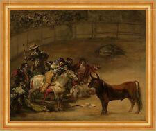 Bullfight, Suerte de Varas Francisco de Goya Stierkampf Arena Torrero B A3 01845