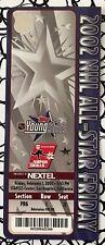 2002 NHL Hockey ALL-STAR FRIDAY TICKET Los Angeles Kariya Fedorov Roy Iginla